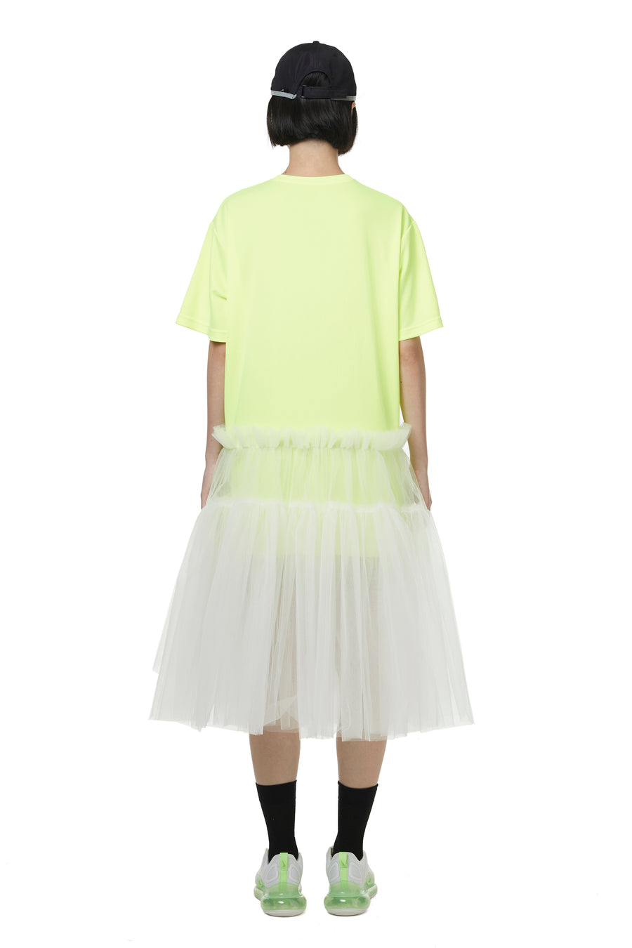Neon Green CHANCE Dry Tulle Tunic