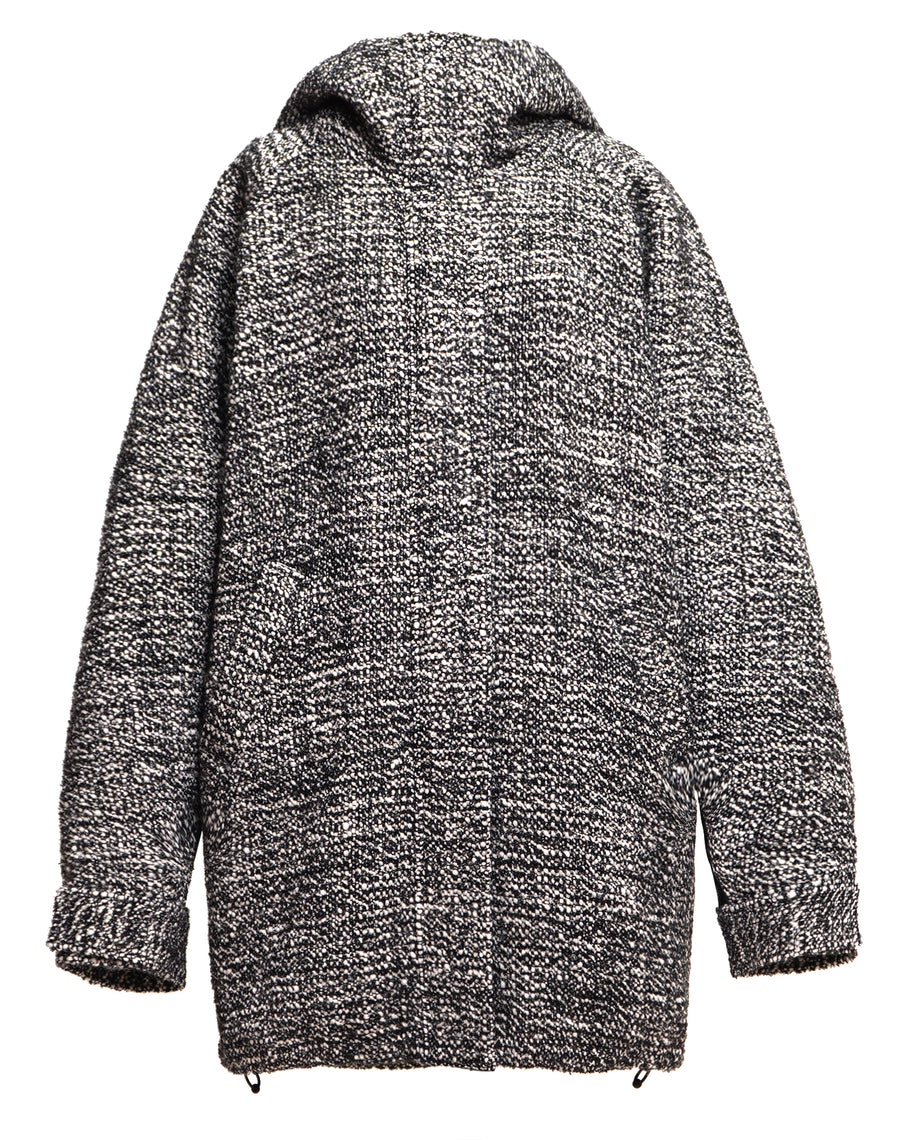 Tweed Oversized Parker