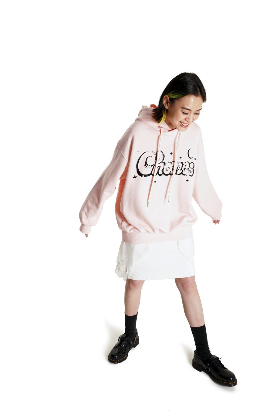 Faded Pink Night Chance Hoodie
