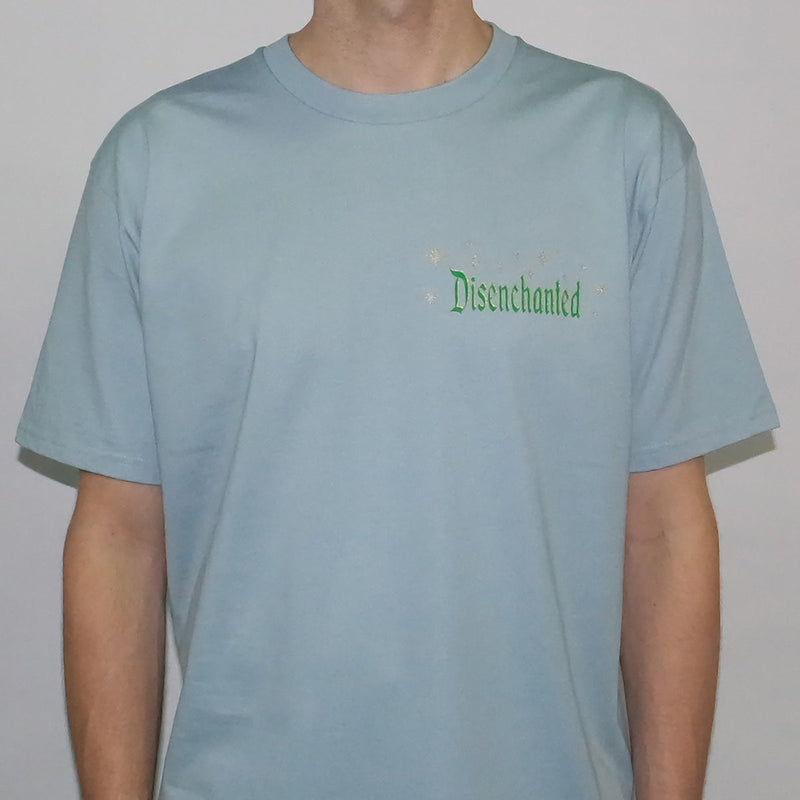 Disenchanted T-shirt - Pale Blue