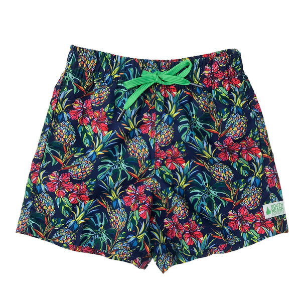 Womens Summer Shorts -Sweet Pineapples
