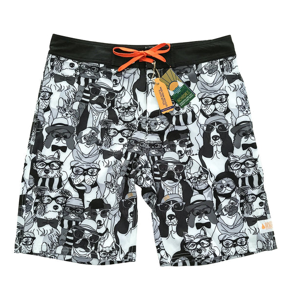 Men's Surfer Boardies - Dogs are the best people