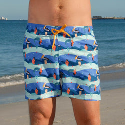 Men's Retro trunks - My Favourite Mermaid