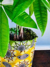 Load image into Gallery viewer, African print fabric planter