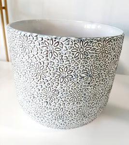 Flower works pot