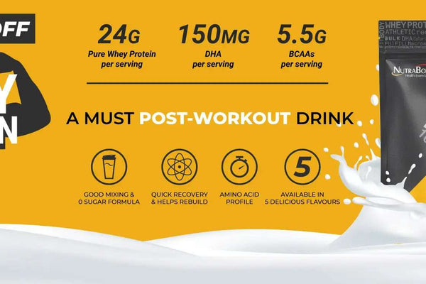 Whey Protein Supplement to Build Your Body Muscle the Smart Way