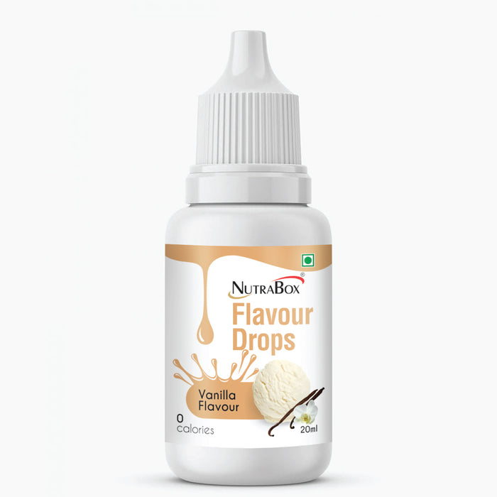 Flavour Drops - Vanilla - Nutrabox India