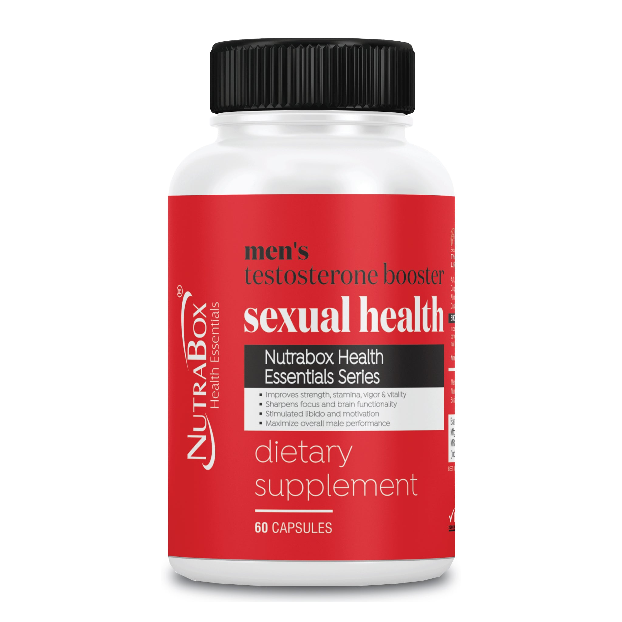 Mens Testosterone Booster Capsules & Tablets in India - Nutrabox