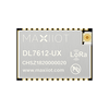 DL7612 LoRa module for 863-928MHz band with low power MCU