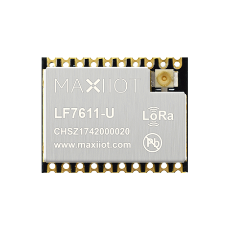 LF7611 LoRa transceiver for 863-928MHz band
