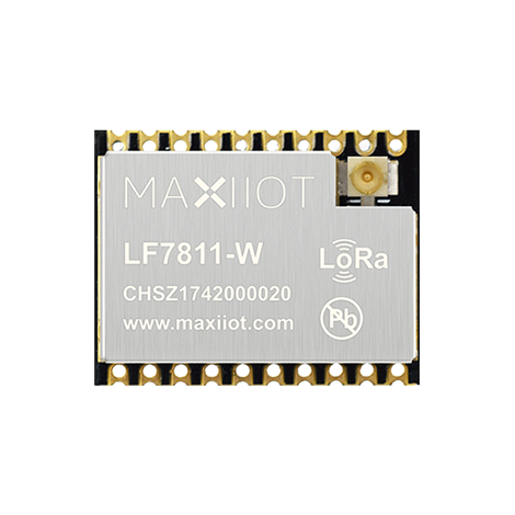 LF7811 LoRa transceiver for 433-510MHz band