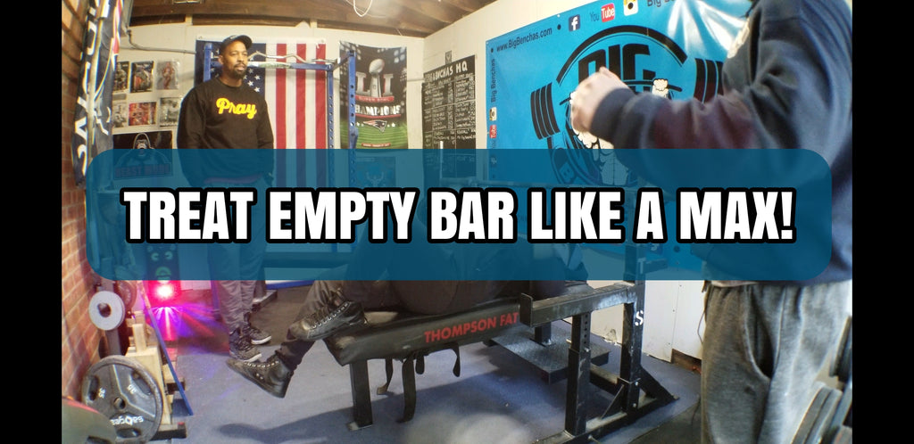 Treat Empty Bar Like A Max!