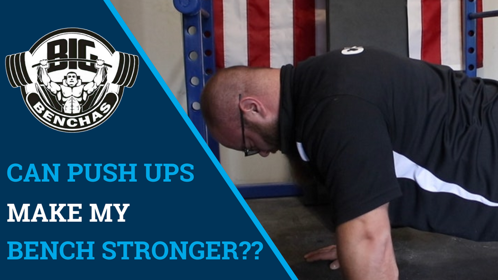 Can Push Ups Help My Bench Press??
