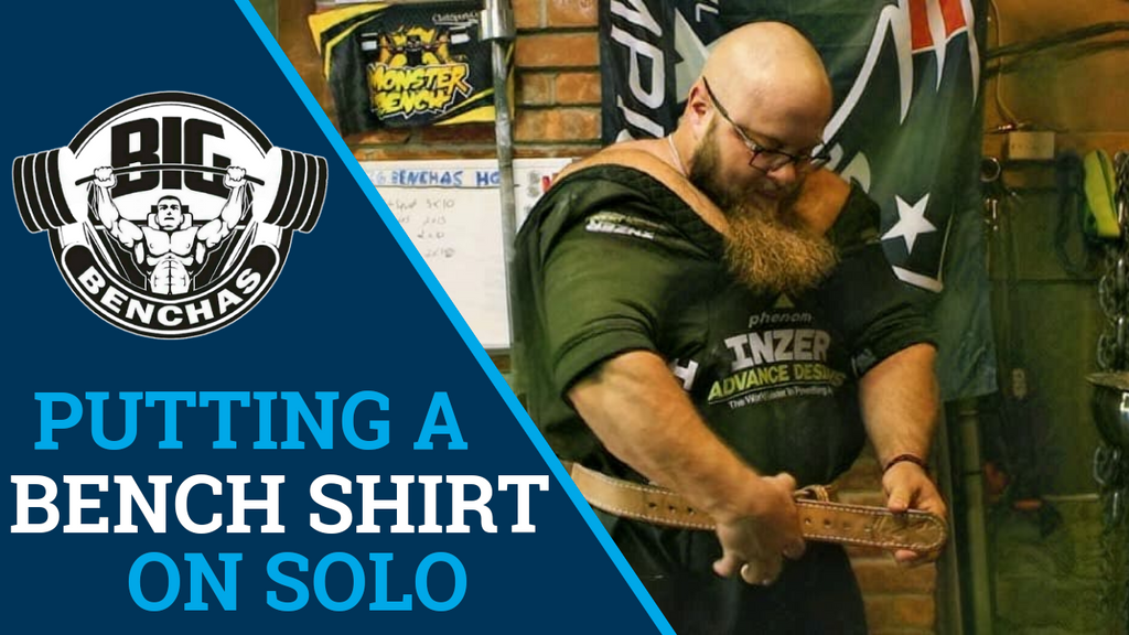 How To Put On A Bench Shirt If You Train Alone