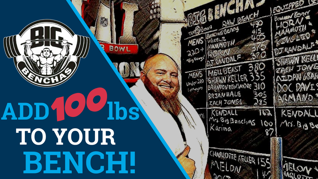 2 Tips To Add 100 lbs To Your Bench Press!