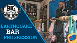 Using The Earthquake Bar For A Stronger Bench Press!