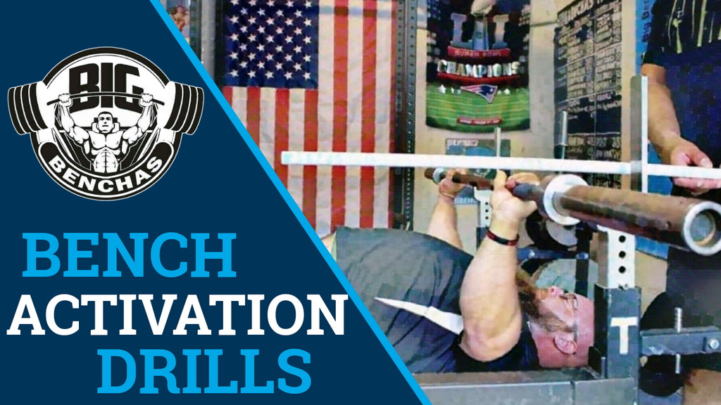 BEST Activation Drills For The Bench Press