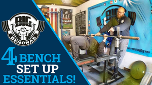 4 Bench Press Set Up Essentials!