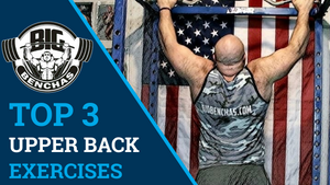 TOP 3 Upper Back Exercises For A Big Bench Press!