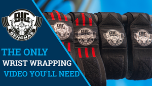 The Only Wrist Wrapping Tutorial You'll Need For Bench Pressing!