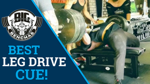 Best Leg Drive Cue To Increase Your Bench Press!
