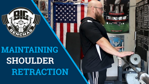 Maintaining Shoulder Position