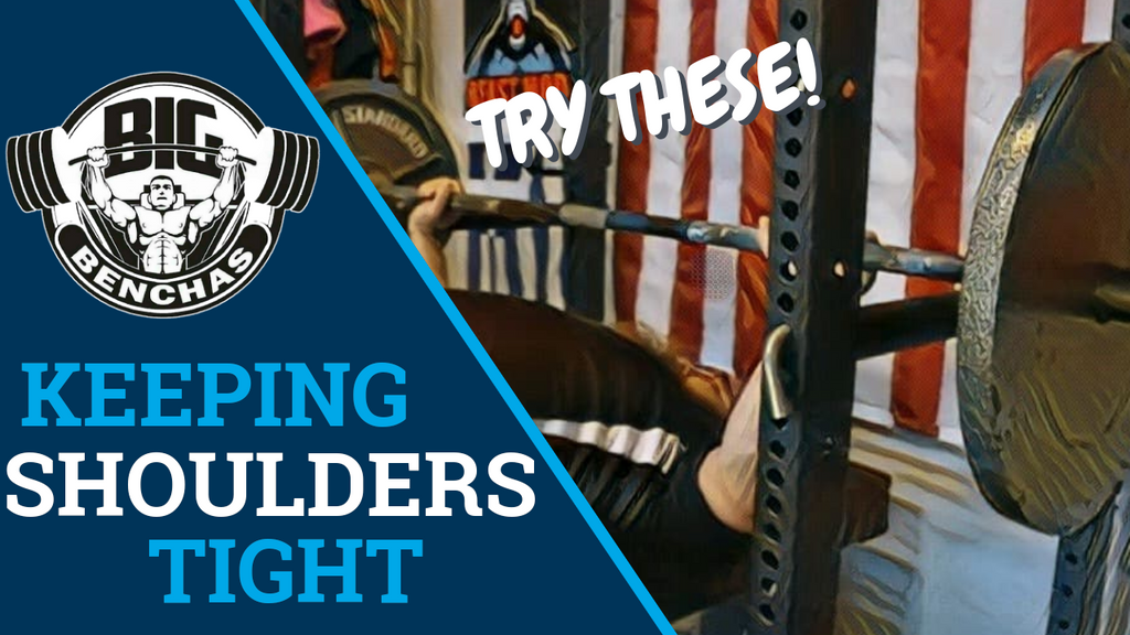 Keep Your Shoulders Tight! 2 Underrated Bench Exercises