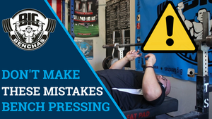Don't Make These Mistakes! Bench Pressing Caution