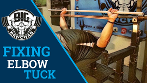 FIXING Tucked Elbows In The Bench Press