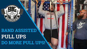Band Assisted Pull Ups: Do More Pull Ups!