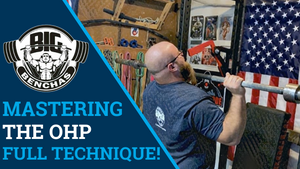 Overhead Pressing 101 - Mastering The OHP