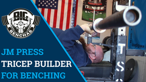 JM Press: Tricep Builder For Bench Press