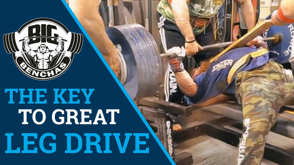 The Key To Great Leg Drive and Arch in The Bench Press