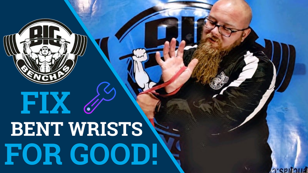 Fix Bent Wrist In The Bench Press For Good!