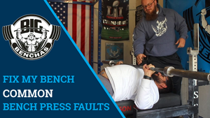 FIX MY BENCH! Common Bench Press Faults