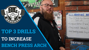 Top 3 Drills To Increase Bench Press Arch