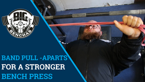 Band Pull-Aparts For A Stronger Bench