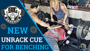 NEW Bench Press Unrack Cue
