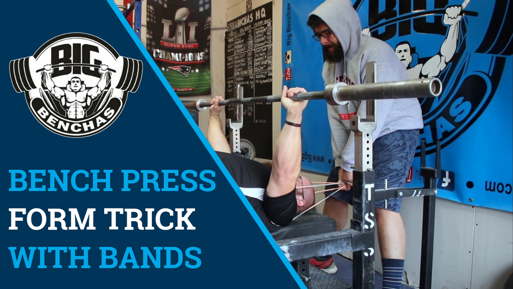 Bench Press Form Trick With Bands