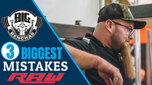 3 Biggest Raw Bench Press Mistakes!