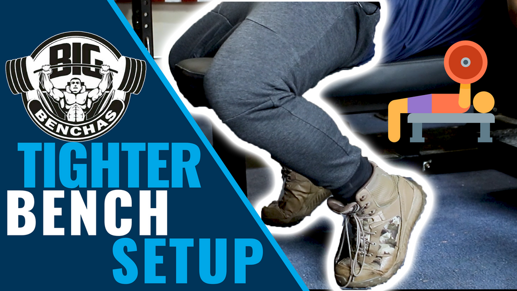 Bench Press Setup Tips for Toes Back Benchers