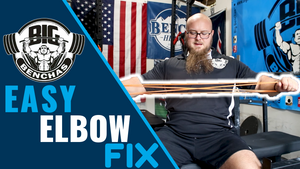 Bench Press Elbow Fix (Stop Tucking Your Elbows)