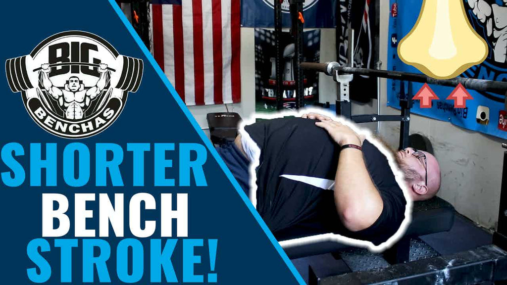 Bench Press Trick to Cut Range of Motion (Without Arching!)