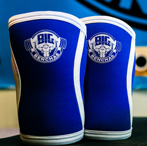 Big Benchin' Elbow Sleeves (Blue) - Big Benchas