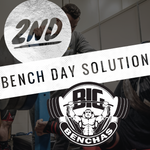The 2nd Bench Day Solution - FIVE 2nd Bench Day Programs - Big Benchas