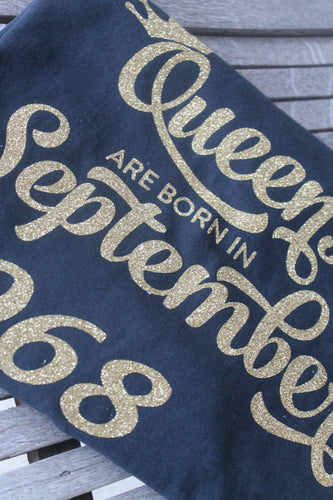 Queens Are Born T-Shirt