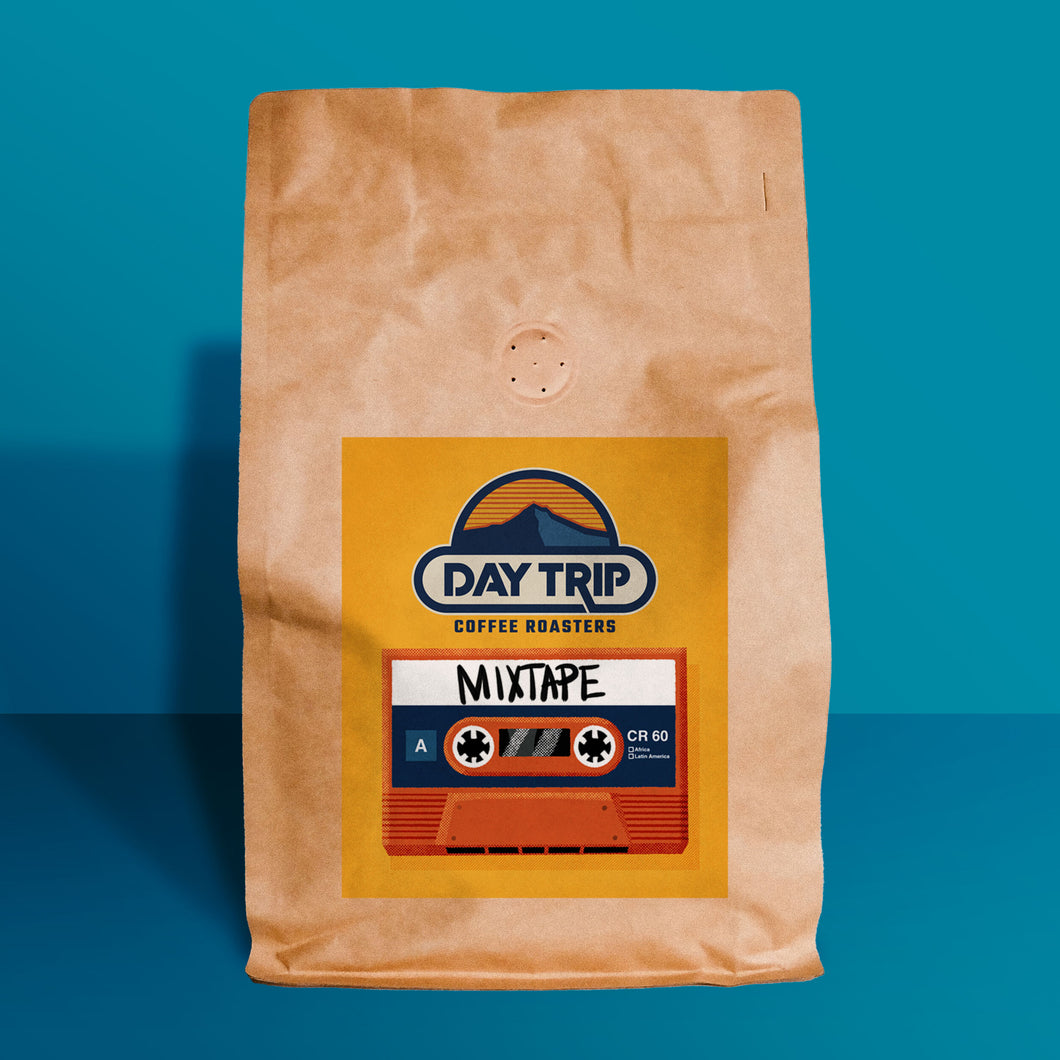 Mixtape blend coffee beans (16 oz)