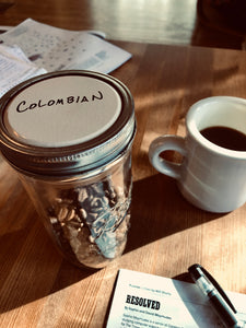 Colombian coffee beans (16 oz)
