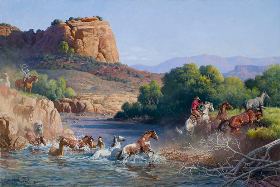 Crossing Rivers by Horseback - Part 2