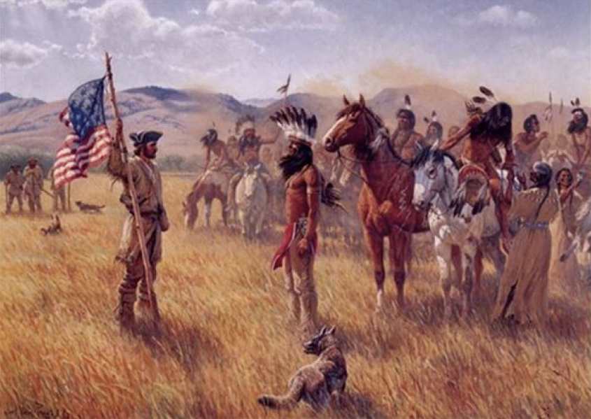 The Shoshoni's and Their Horses: Key to the Pacific